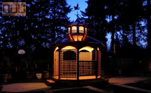 Copper Clad Gazebo 2 by DarrianAshoka