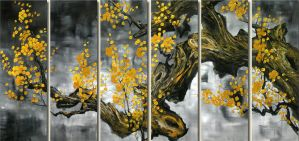 Plum Blossom by wugallery