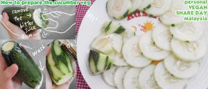 How to prepare cucumber veg by Doll1988