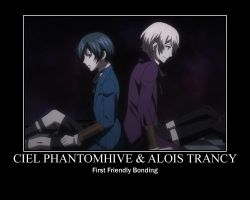 Alois and Ciel Bonding by AloisPhantomhive