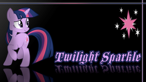Twilight Sparkle Wallpaper by Traxel47