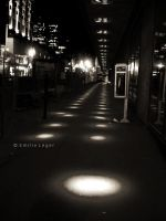 Montreal at night 3 by emilieleger