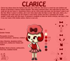 Clarice Reference Sheet by MangaFox156
