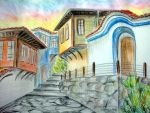 Plovdiv - the old city by Mdesy