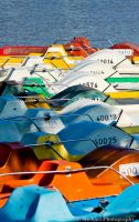 colorful boats by Photomichael