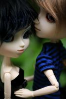 Gabriel and Zelie by LittleSweet