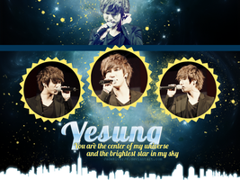 Yesung - You are ... Wallpaper {HBD!} by JadeRiverJR