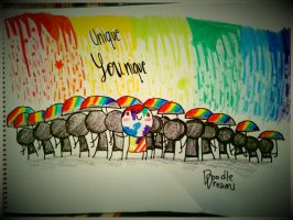Different is awesome by mabiesison