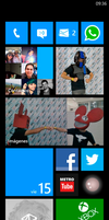 My Windows Phone 7.8 Start Screen by IvoFajardo