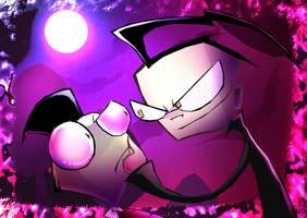 Invader Zim - Shush by ZimPLUSDib