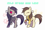 MLP GREED AND LING by oharu0863