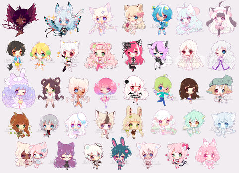 CC CHIBBIES BATCH 7 (HUGE) by Sueweetie