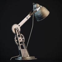 Steampunk Lamp3 by Sergei00790