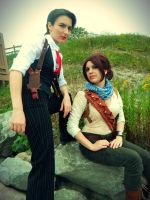 Rule 63 Uncharted: Frenemies by LadyofRohan87