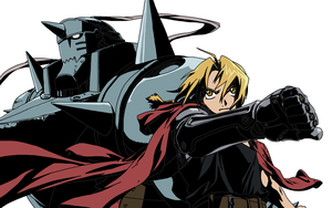 Fullmetal alchemist Ed and Al colored by MonsterWhacker