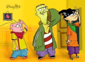 Ed, Edd n Eddy by Lintu-Dot