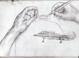 Hands and Jets by bflynn22