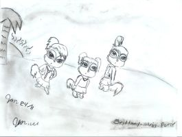 The chipettes island fever by brittany-alvin-forev