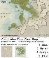 Elfcarron: Customise Your Own Map by WorldBuilding