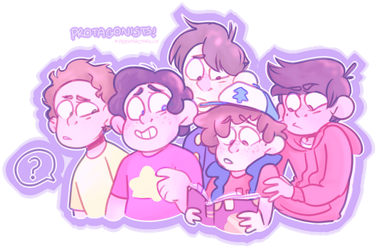 th boys by AbstractHolly