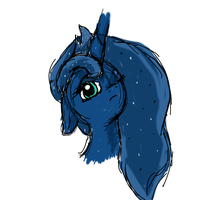 Luna sketch by mykittyjasper