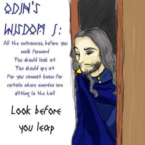 ODIN'S WISDOM 1: Be Cautious