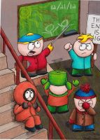 Cartman's Apocalypse by Lady-KL