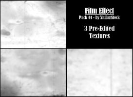 Film Effect Textures Pack 01 by XiuLanStock