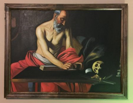 St. Jerome. by TheArtForge