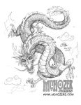 ConSketch - Dragon by Oshouki