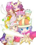 Shugo chara warriors by YumeTomora