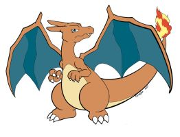 006 Charizard by Guillo-Carregha