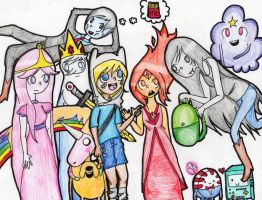 Adventure Time (Most Characters) by YourAdopted