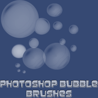 Photoshop Bubbles Brushes by iamthetv