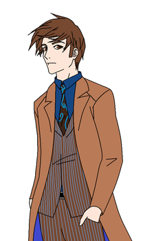 Doctor Who - The Doctor by TheAnimefreak69