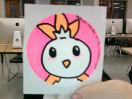 Torchic STicker For Sale by rayne-storme