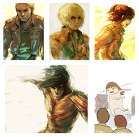 shingeki no speed paint by oranges-lemons