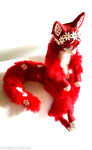 FOR SALE: Strawberry Blossom Vixen OOAK by TotemEye