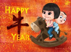 CNY Greeting 2009 Part 1 by Keeveneo