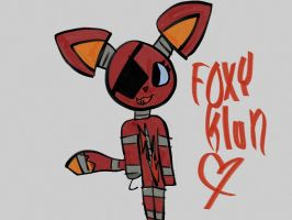 FoxyKlun (Five Nights At Freddy's OC) by iBallisticSquiddy