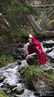 Mountain creek (with Cerise Hood) CINEMAGRAPH!! by awesomePhotoDe