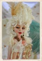 Baroque Rococo Ball jointed doll BJD by SutherlandArt