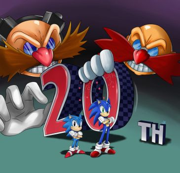 Sonic 20th by ss2sonic
