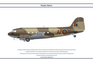 Dakota GB 267 Sqn by WS-Clave