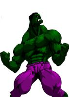 Hulk color by WTK