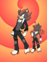 shadow and his ???? by ghoustman1213