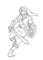 Link lineart by NatSmall