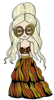 Lady Gaga mini png by BarbieGuerrero10