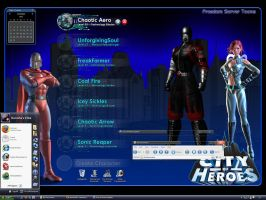 City of Heroes Montage by masterschwag