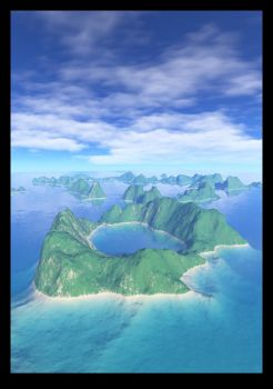 Tropical Atoll by TwilightRealm